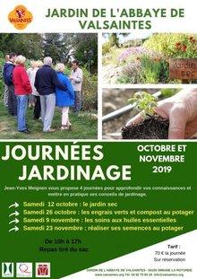 Journée jardinage à Valsaintes : engrais verts et compost au potager