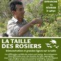 Démonstration de taille des rosiers par Jean-Yves Meignen (SIMIANE LA ROTONDE, 04)
