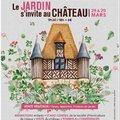 Le jardin s'invite au château (CRéVECOEUR EN AUGE, 14)