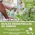 Conférénce : L'utilisation des huiles essentielles au jardin (SIMIANE LA ROTONDE, 04)