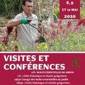 Visites et conférences Les huiles essentielles au jardin (SIMIANE LA ROTONDE, 04)