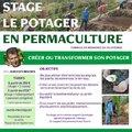Stage le potager en permaculture (SIMIANE LA ROTONDE, 04)