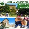 L'été au jardin de l'abbaye de Valsaintes (SIMIANE LA ROTONDE, 04)