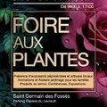 1ère Foire aux Plantes, aux Arbres et Arbustes (SAINT GERMAIN DES FOSSES, 03)