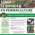Stage : Le potager en permaculture (SIMIANE LA ROTONDE, 04)