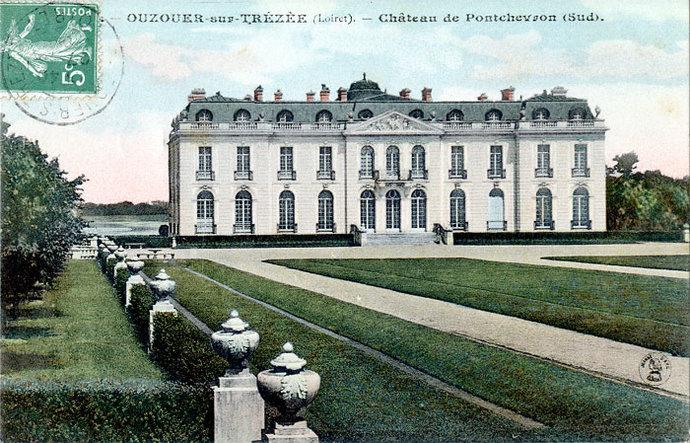 Jardin du château de Pont-Chevron