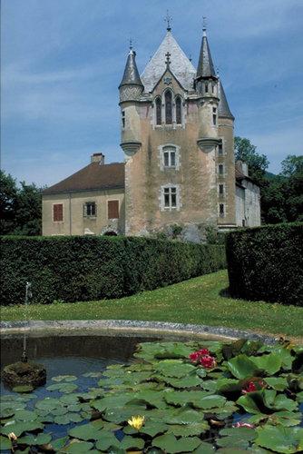 Parc du château de Dortan