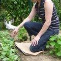 Les meilleures positions pour jardiner