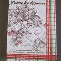 Livre : recettes de cuisine à partir de légumes du jardin