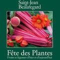 Fête des plantes de l'automne 2011 à Saint-Jean de Beauregard