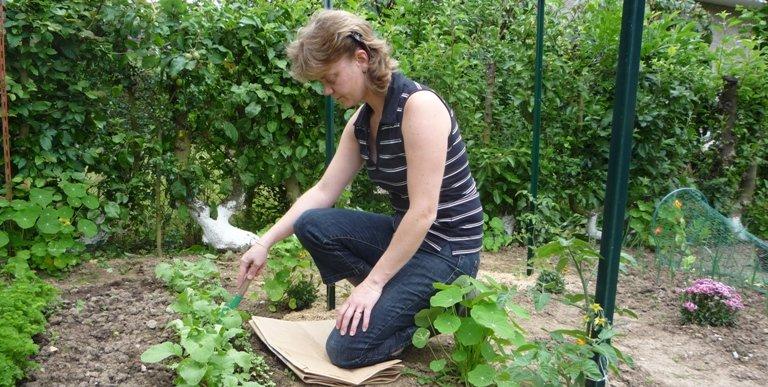 Pendant la grossesse, des bonnes posistions pour jardiner en sécurité