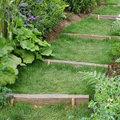 Aménager un escalier en traverses