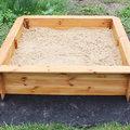 Installer un bac à sable au jardin