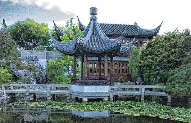 Histoire du jardin chinois