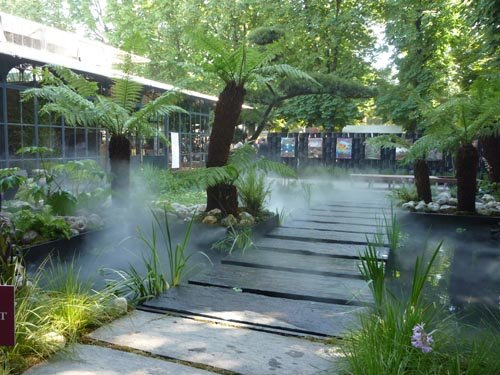 Le jardin de Christian Fournet