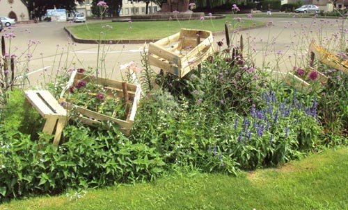 Jardins en Trocs - Massifs artistiques