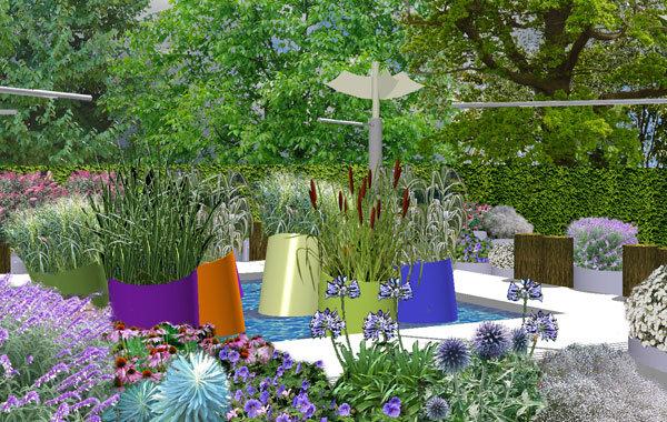 Le jardin pixelisé (Italie)
