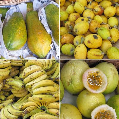 Fruits exotiques à volonté