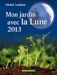 Mon jardin avec la lune 2013