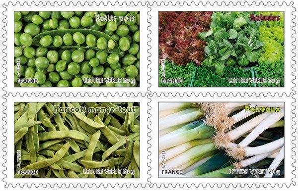 Légumes gousses et feuilles