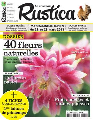 Le nouveau Rustica : Nouveau logo et couverture haute en couleur