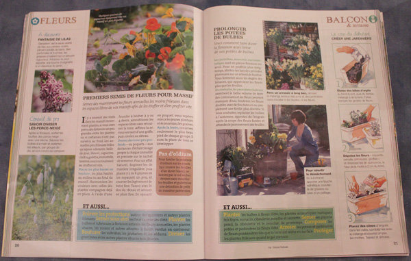 Des conseils de jardinage bien illustrés